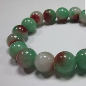 Natural Beaded Jade Bracelet